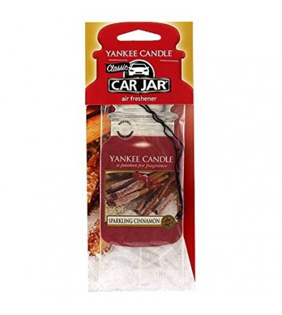 Sparkling Cinnamon - Car Jar Yankee Candle