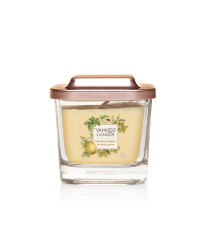 Tonka Bean & Pumpkin - Giara Piccola Elevation Collection Yankee Candle