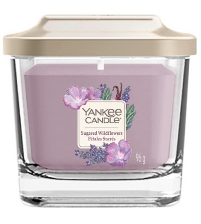 Sugared Wildflowers - Giara Piccola Elevation Collection Yankee Candle