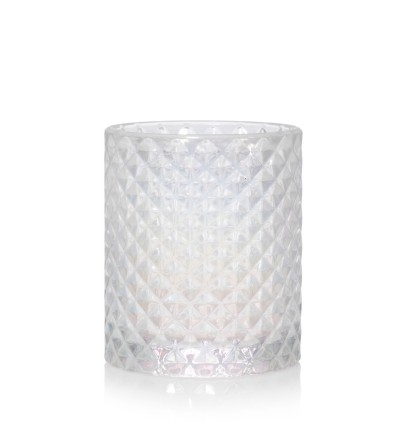 Langham - Porta candela sampler vetro sfaccettato Yankee Candle