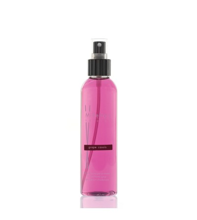 Grape Cassis - Spray ambiente 150ml Natural Millefiori Milano