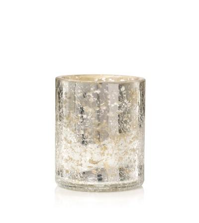 Kensington - Porta giara con finitura effetto mercurio su vetro Yankee Candle