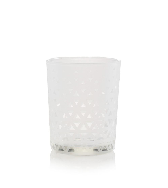 Belmont  - Porta candela sampler vetro sabbiato Yankee Candle
