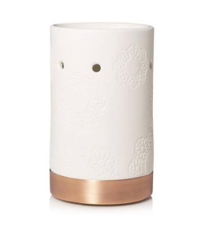 Addison - Bruciatore per Tart in ceramica con motivo fiorito Yankee Candle