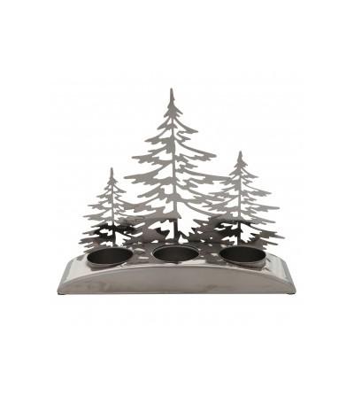 Snowy Gatherings - Porta tea light multiplo Yankee Candle