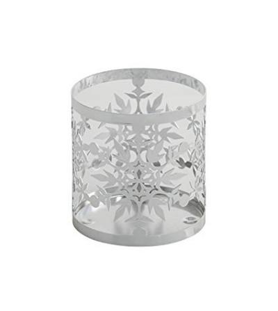 Twinkling Snowflake Frosty - Porta giara in metallo Yankee Candle