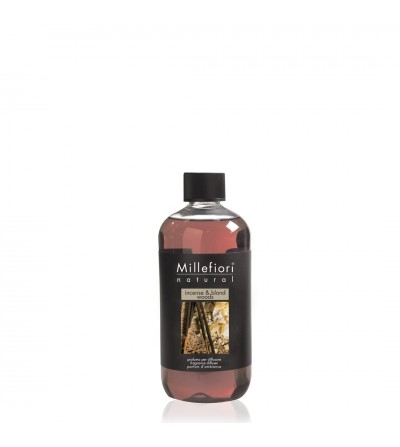 Incense & Blond Woods - Ricarica 250ml diffusore a bastoncini Natural Millefiori Milano