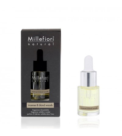 Incense & Blond Woods - Fragranza Idrosolubile 15ml Millefiori Milano