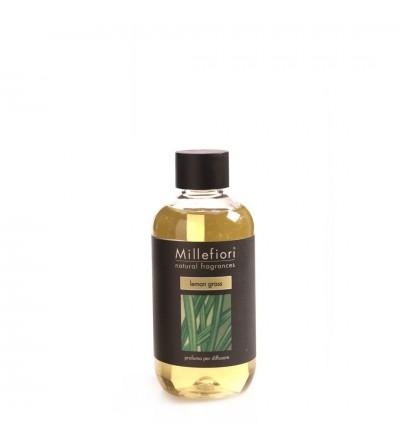 Lemon Grass - Ricarica 250ml diffusore a bastoncini Natural Millefiori Milano