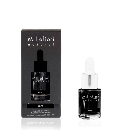 Nero - Fragranza Idrosolubile 15ml Millefiori Milano
