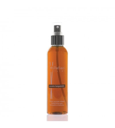 Sandalo Bergamotto - Spray ambiente 150ml Natural Millefiori Milano