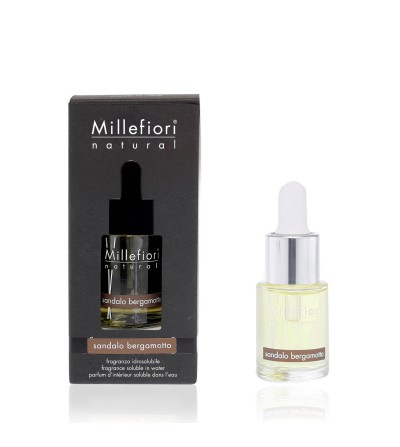 Sandalo Bergamotto - Fragranza Idrosolubile 15ml Millefiori Milano