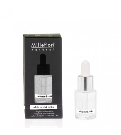 White Mint & Tonka - Fragranza Idrosolubile 15ml Millefiori Milano