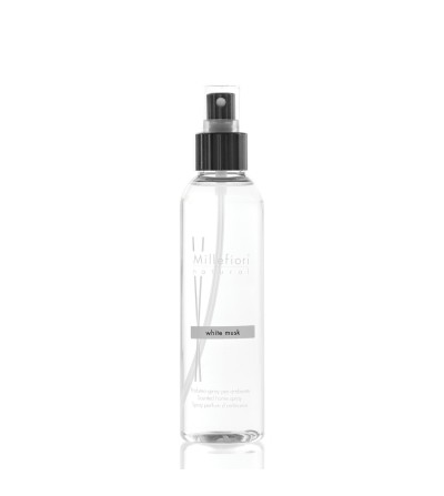 White Musk - Spray ambiente 150ml Natural Millefiori Milano