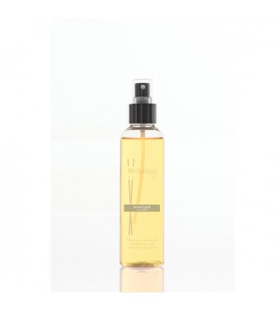 Mineral Gold - Spray ambiente 150ml Natural Millefiori Milano