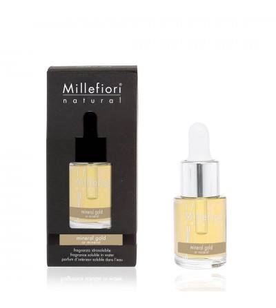Mineral Gold - Fragranza Idrosolubile 15ml Millefiori Milano
