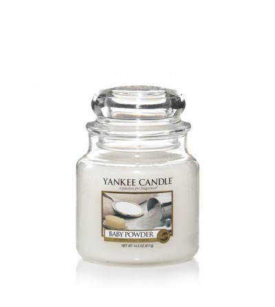 Baby Powder - Giara Media Yankee Candle