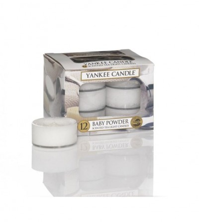 Baby Powder - Tea Lights Yankee Candle
