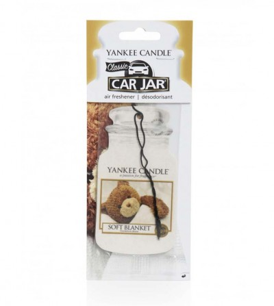 Soft Blanket - Car Jar Yankee Candle