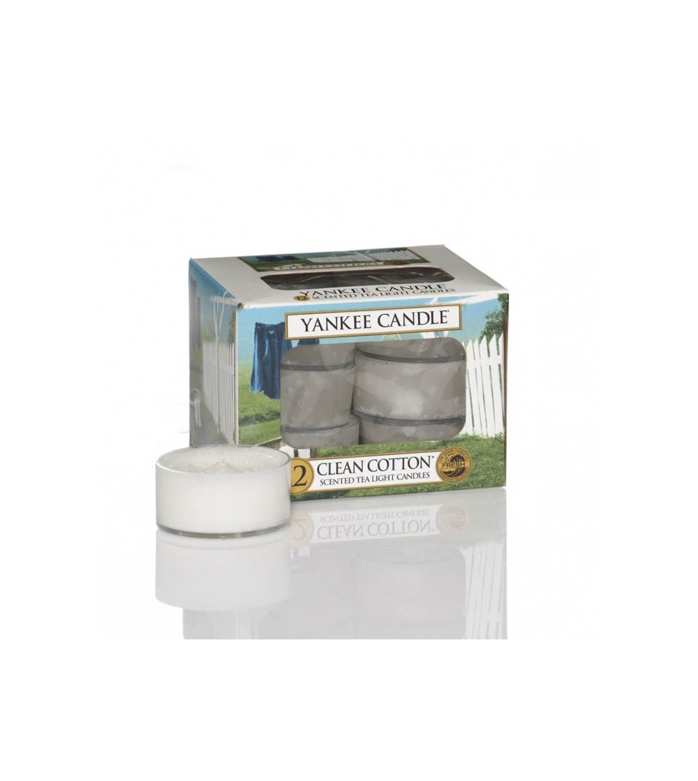 Clean Cotton® - Tea Lights Yankee Candle