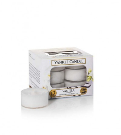 Vanilla  - Tea Lights Yankee Candle