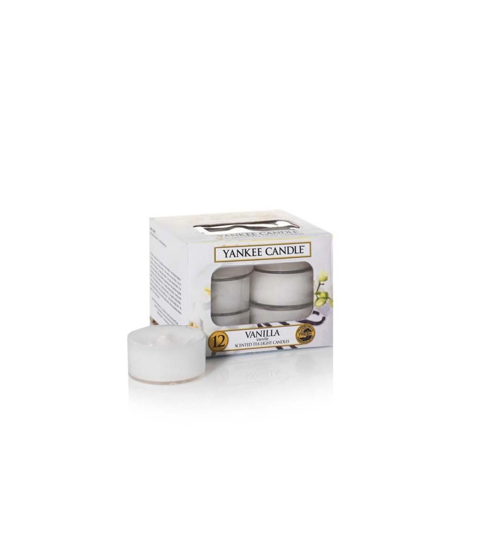 Vanilla  - Tea Lights Yankee Candle