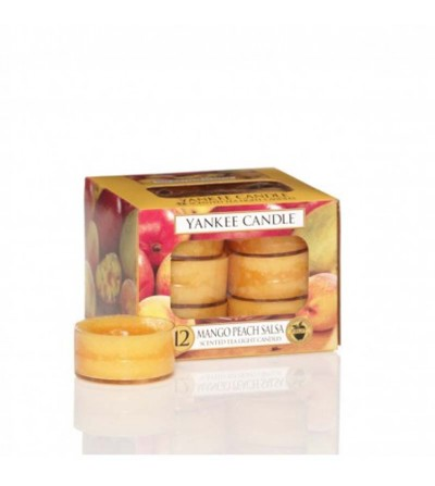 Mango Peach Salsa - Tea Lights Yankee Candle