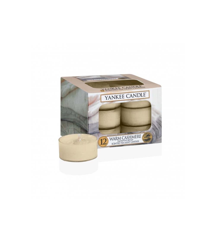 Warm Cashmere - Tea Lights Yankee Candle