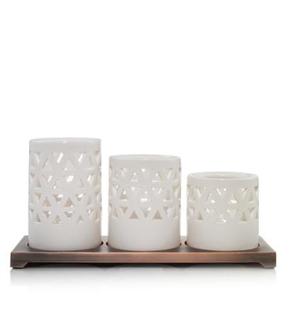 Belmont - Porta tea light multiplo Yankee Candle