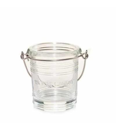 Essential bouquet vetro trasparente - Porta candela sampler Yankee Candle
