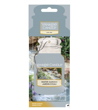 Water Garden - Car Jar Yankee Candle