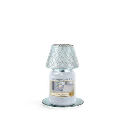 Savoy - Paralume e Piattino Grande Yankee Candle