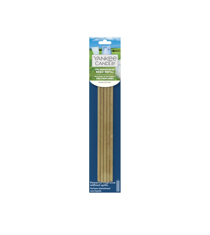 Clean Cotton® - Ricarica Bastoncini Profumati Yankee Candle