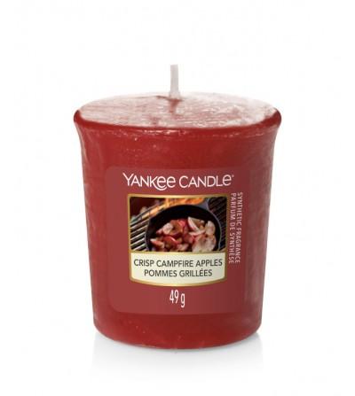 Crisp Campfire Apples - Candela Sampler Yankee Candle
