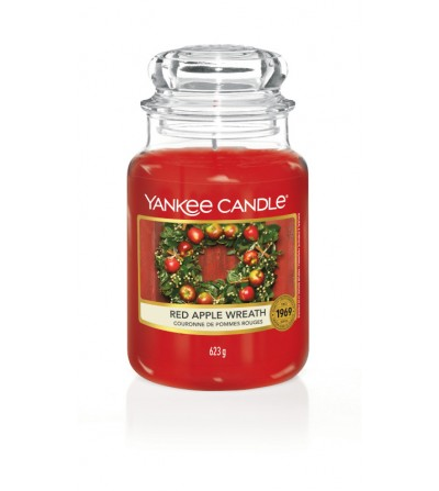 Red Apple Wreath - Giara Grande Yankee Candle