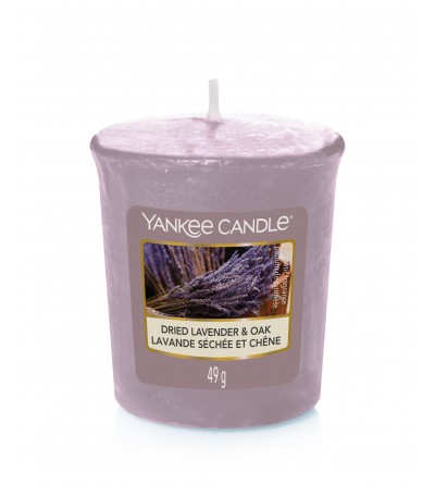 Dried Lavender & Oak - Candela Sampler Yankee Candle