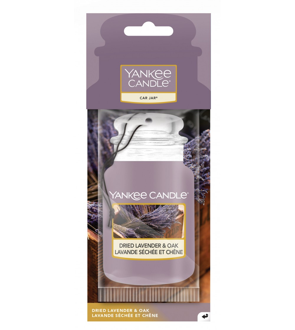 Dried Lavender & Oak - Car Jar Yankee Candle