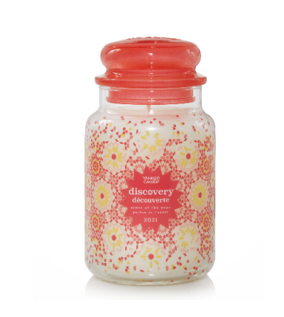Fragranza Scent of the Year 2021 - Discovery - Yankee Candle