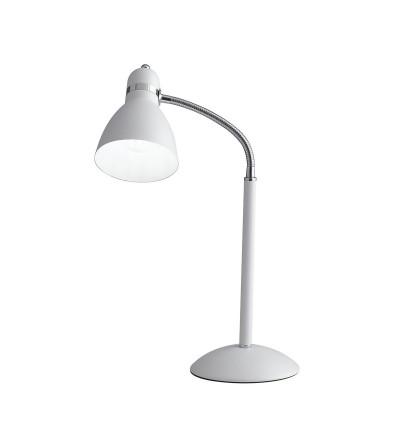 Lume Metallo Bianco Orientabile Lampada Da Tavolo -  F.A.N.