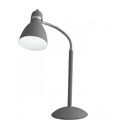 Lume Metallo Grigio Orientabile Lampada Da Tavolo -  F.A.N.