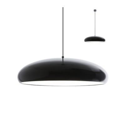 Sospensione TUTU a 4 luci con finitura alluminio acrilico opalino - Redo