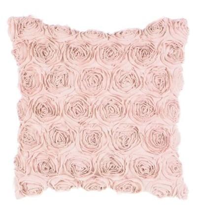 Cuscino con rose Rosa - Blanc Mariclò