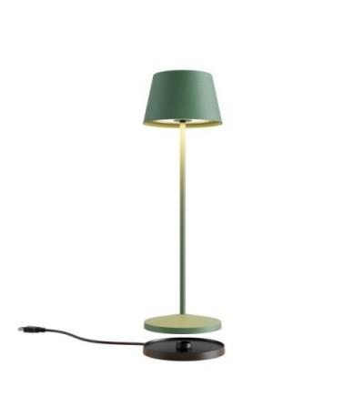 LA NUIT - Lampada da tavolo tonda verde - Redo Group