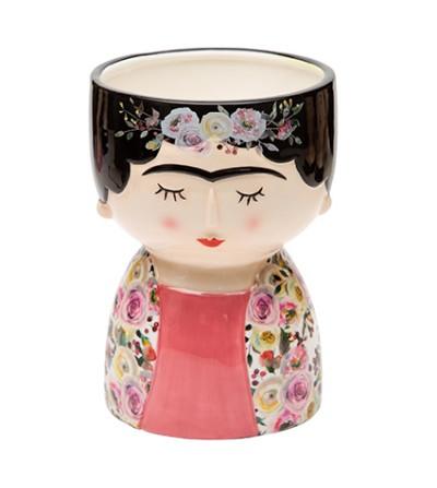 LOLA vestito a fiori vaso ceramica - Montemaggi