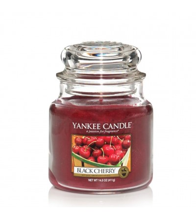 Black Cherry - Giara Media Yankee Candle