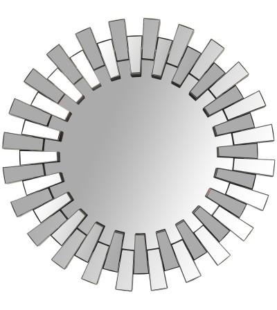 Specchio in melamina argentato a raggi - Exclusivas Camacho