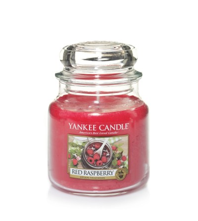Red Raspberry - Giara Media Yankee Candle