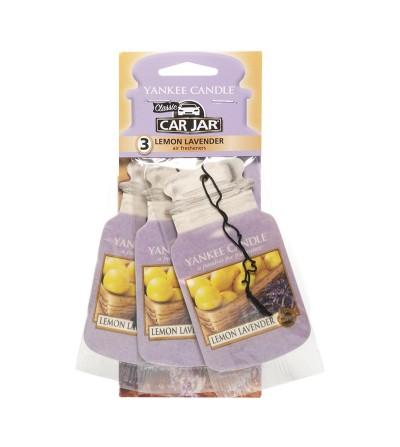 Lemon Lavender - Car Jar 3pack Yankee Candle
