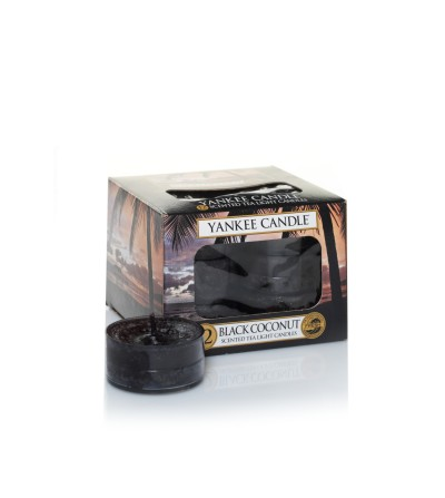 Black Coconut - Tea Lights Yankee Candle