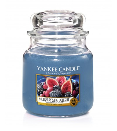 Mulberry & Fig Delight - Giara Media Yankee Candle